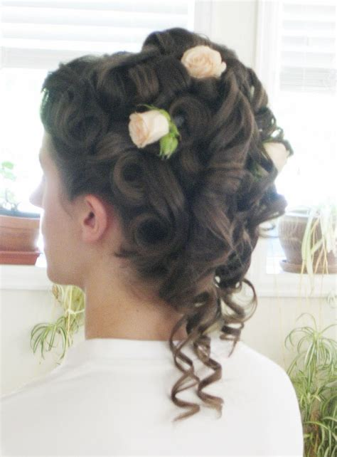victorian era hairstyles with curls 19th century hair style hairstyling pinterest