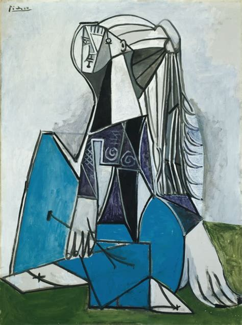 picasso paintings chicago pablo picasso portrait of sylvette david 1954