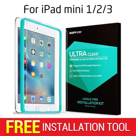 Tempered Glass Mini 2 3 screen protector for mini 1 2 3 esr tempered glass screen protector with free applicator