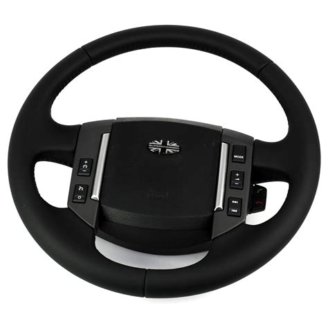 land rover steering wheel land rover discovery 3 09 soft leather steering wheel lr3