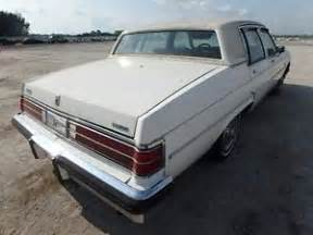 82 Buick Electra 1980 81 82 83 84 Buick Electra Park Avenue Right Rear