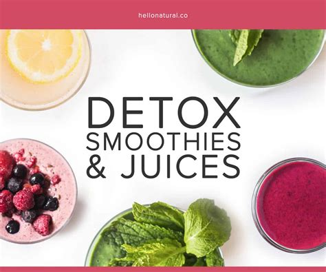 Herbal Detox Cookbook For Cleansing by Detox Smoothies Juices E Book Hellonatural Co