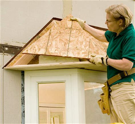 bow window roof framing bay window how to install a bay window