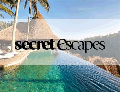 secret escapes secret escapes marion flipse partners