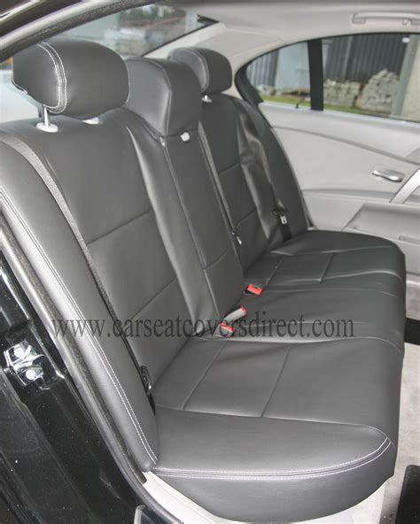 bmw seat covers 5 series bmw 5 series e60 black seat covers car seat covers direct
