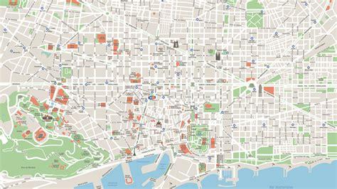 Restaurantes En Paseo De Gracia Barcelona #7: Mapa-turistico-de-Barcelona.png