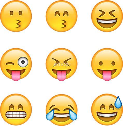 emoji pack quot smilies emoji pack b quot stickers by emoji redbubble