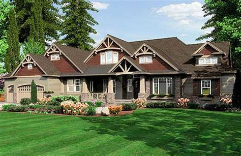 pacific northwest home plans modern arts and crafts home plans
