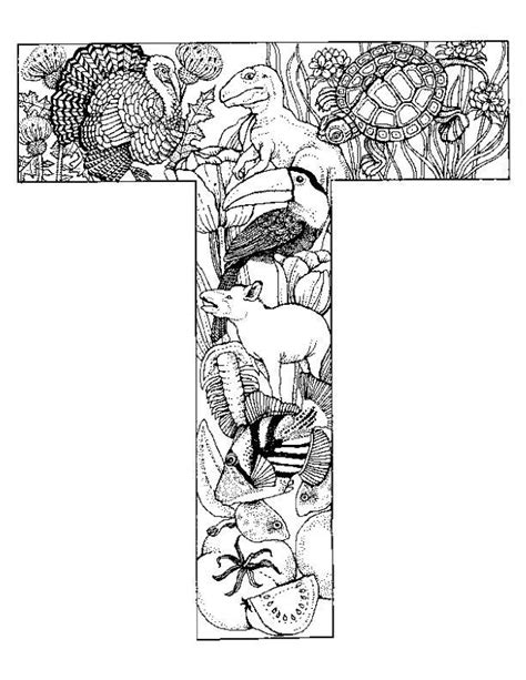 daily coloring pages letters coloring pages animals alphabet picture 34