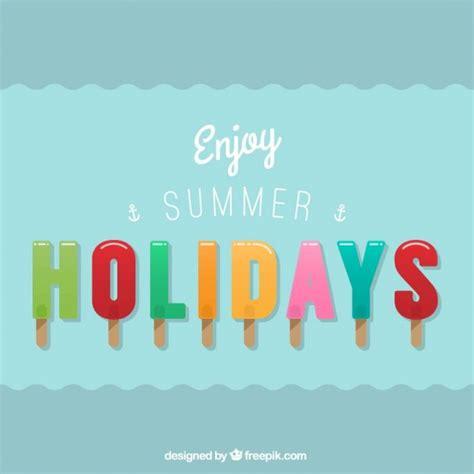 Enjoy Summer enjoy summer holidays vector free