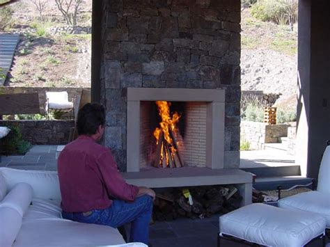 Rumford Outdoor Fireplace by Outdoor Smoky