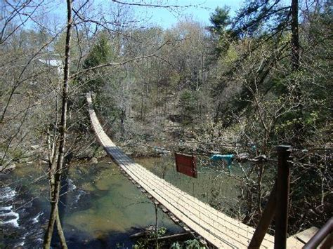 swinging bridge hotel buzzards roost lookout picture of fall creek falls state