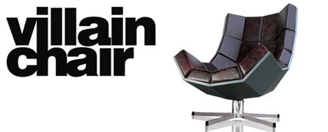Villain Chair by Villain Chair Oversize Swivelling Leather Lounger Chair