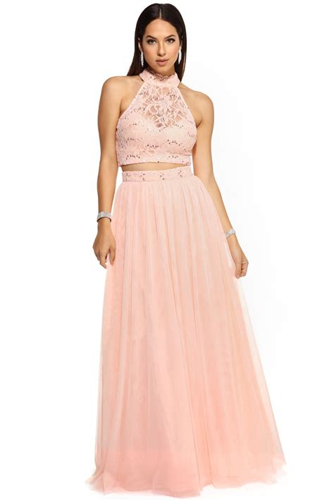 Prom Dresses by Sale Britt Pink Tulle Prom Dress