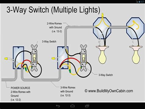 3 way switch wiring diagrams how to install inside