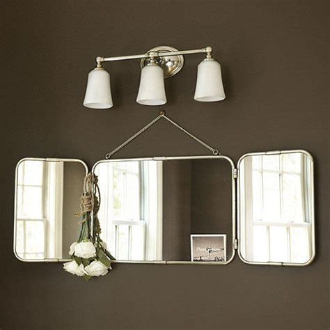 Tri Fold Bathroom Vanity Mirrors by Tri Fold Vanity Mirror I Ballarddesigns Bathroom