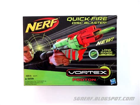 Nerf Proton by Sg Nerf Nerf Vortex Proton Review