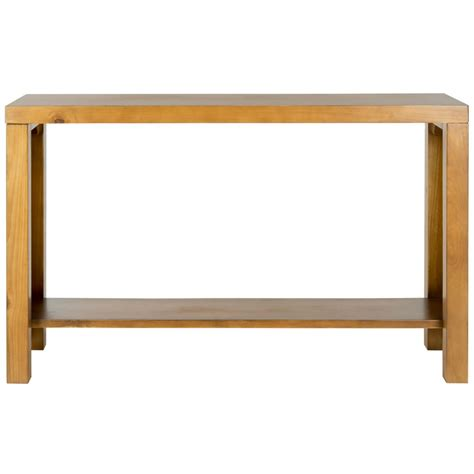 shop safavieh american home light oak pine rectangular - Light Oak Sofa Table