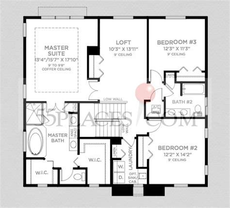 waterview floor plan waterview floorplan 2552 sq ft townpark at tradition