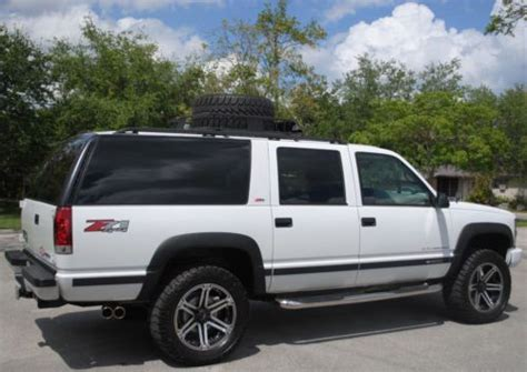 how cars engines work 1996 chevrolet suburban 1500 parental controls sell used 1996 suburban 1500 ls 5 7l v8 vortec 4x4 20 quot new wheels like new no reserve in