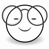 Happy Face Sun Black And White | 999 x 999 png 106kB