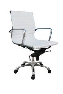 White Desk Chair Comfy Low Back White Office Chair Office Chairs Sku176521 1