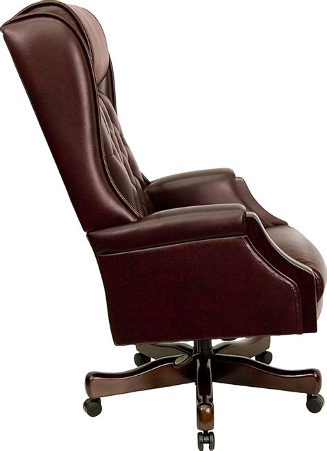 High Back Leather Office Chair by Corporate Office Lobby Design Corporate Lobby Design
