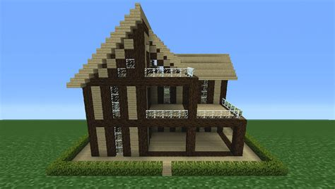 wood to build a house minecraft tutorial how to make a wooden house 13 youtube