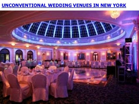 unconventional wedding venues in new york - Unconventional Wedding Venues New York