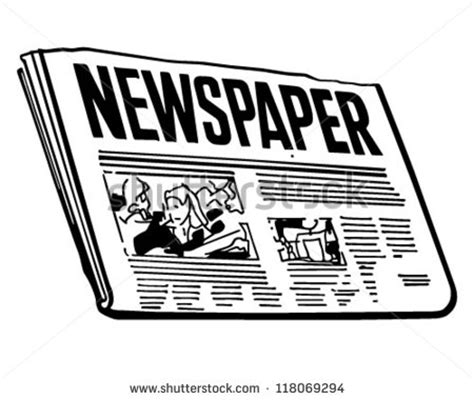 newspaper clipart news paper immage clipart