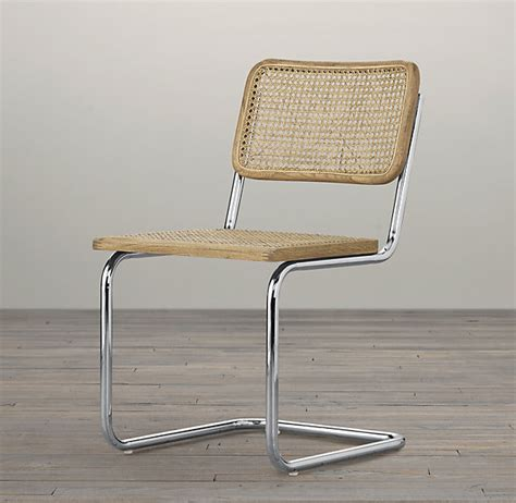 Restoration Hardware Bistro Chair Restoration Hardware S Bauhaus Side Chair Based On The Breuer Caned Chair 139 Shopping
