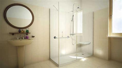 soluzioni per doccia ponte giulio soluzione doccia con rivestimento alto