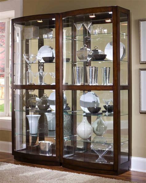 curio cabinets  ornaments storage decoration channel