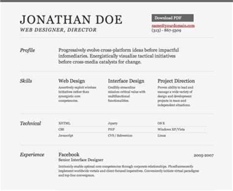 Descargar Plantilla De Curriculum Normal Creativas Plantillas Curriculum Vitae