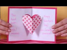 Making Cards Magazine Subscription - valentine s day heart pop up card youtube