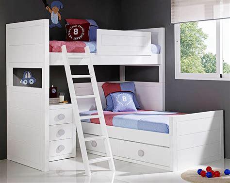imagenes literas infantiles dormitorios modernos con literas para ninos diseno casa