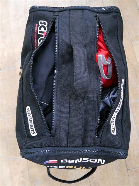 Handmade Cing Gear - roubaix tech scicon brings semi custom pro race bag
