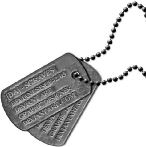 best photos of dog tag template military dog tag