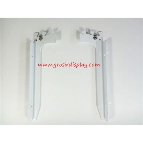 Display Hanger Rok Gantungan Bawahan 25 Cm Putih Display Toko Murah braket kayu putih 25 cm penyangga rak kayu grosir display