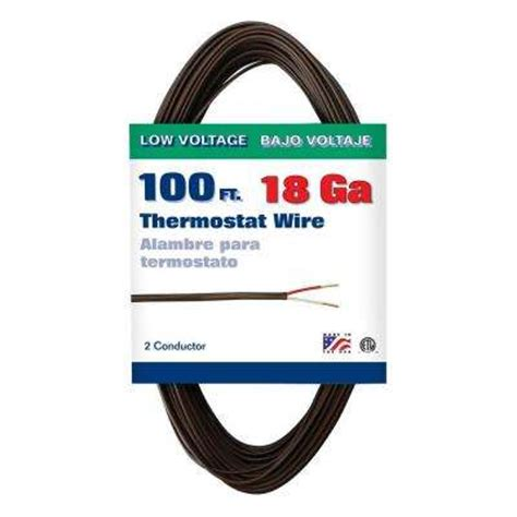 100 thermostat wire wire the home depot
