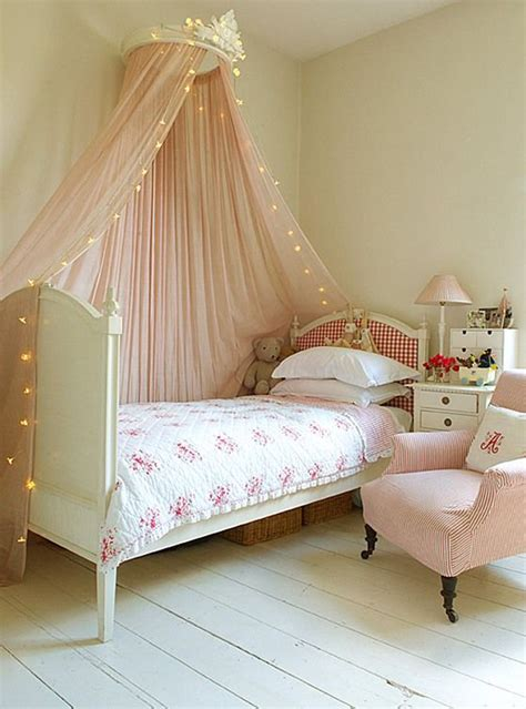 Shabby Chic Kids Room With Canopy Bed Shabby Chic Bed Canopy