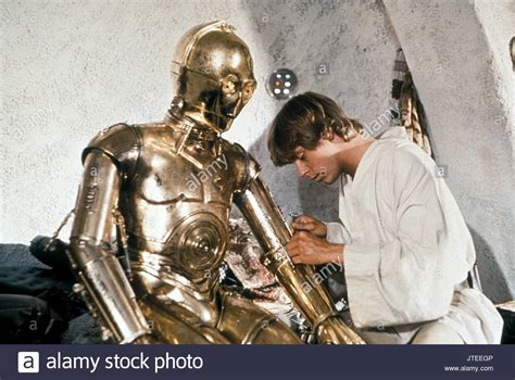 anthony daniels star wars a new hope a new hope george lucas c 3po a daniels stock photos a