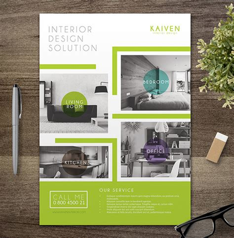 Flyer Interior Design by 10 Design Tips To Make A Professional Business Flyer