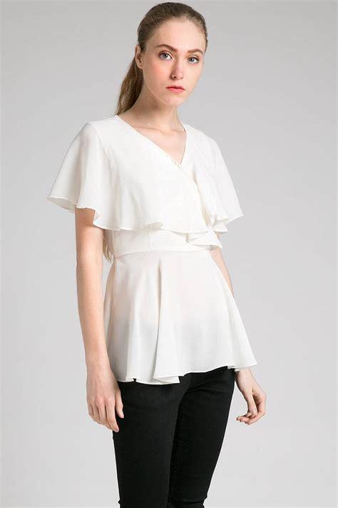 Blouse Blus Atasan Pakaian Wanita White Embr L 345099 sell julinka blouse blouse berrybenka