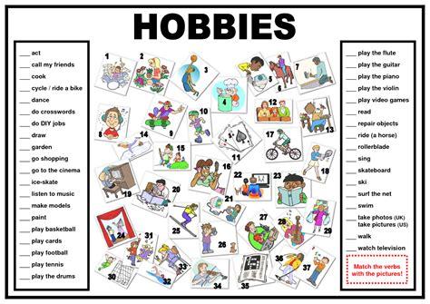 imagenes de hobbies en ingles practica tus hobbies ciudad de los idiomas
