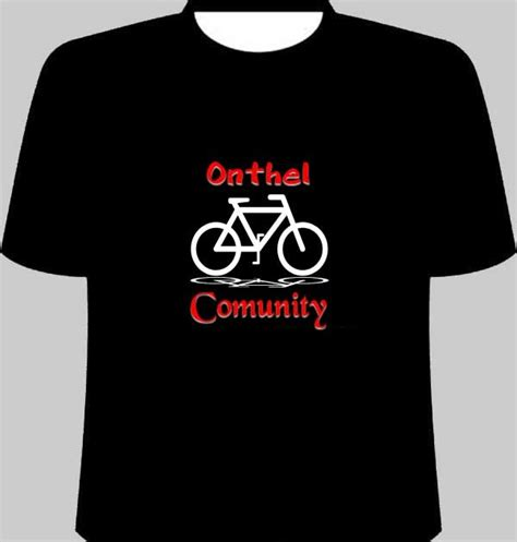Tshirtt Shirtkaos One sepeda onthel in desain collection t shirt design