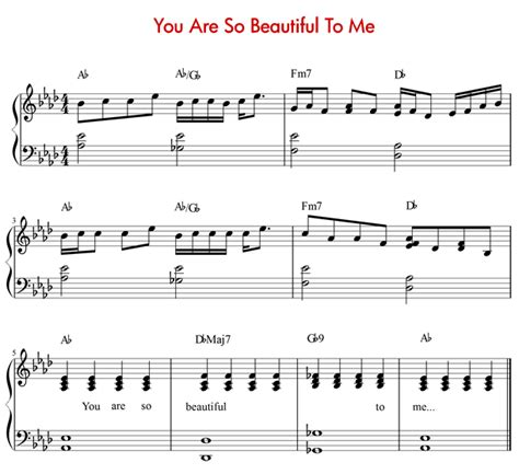 tutorial piano you are so beautiful episode 11 how to play quot you are so beautiful to me quot by