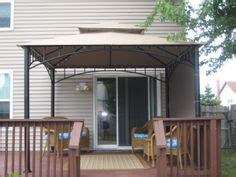 how to build a awning over a deck 1000 images about awning on pinterest pvc canopy