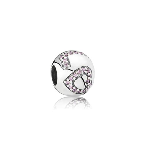 surrounded by charm pink cz pandora jewelry us