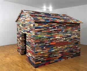 fort a day a playhouse made from books hundreds of em